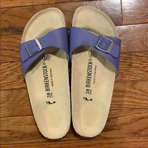 Birkenstock Madrid sandals blue 38
